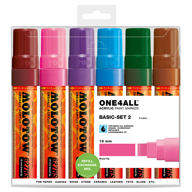 ONE4ALL™ 627HS Basic-Set 2
