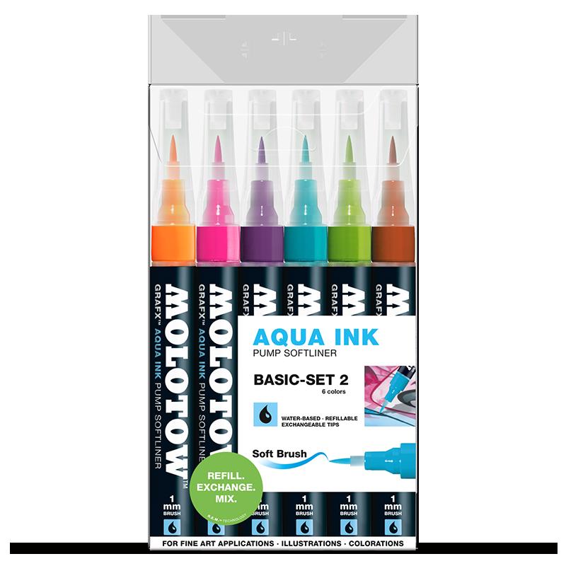 Aqua Ink Pump Softliner Basic-Set 2