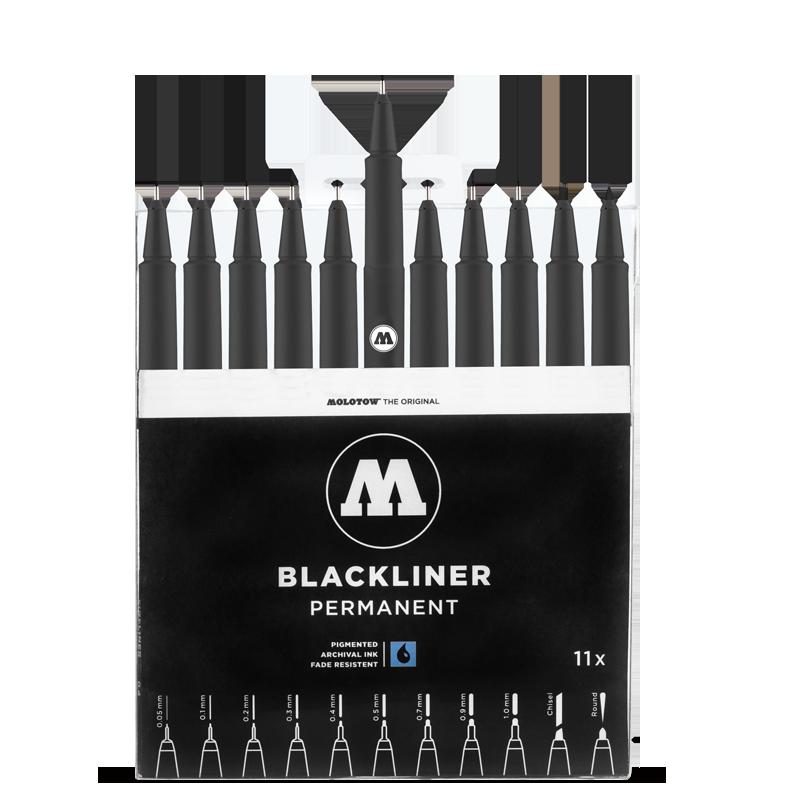 MOLOTOW™ BLACKLINER Complete Set