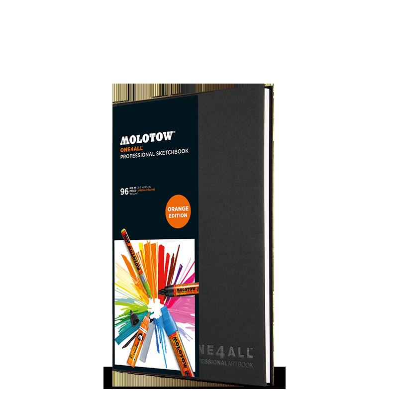 ONE4ALL™ Profesionální sketchbook DIN A4 (na výšku)