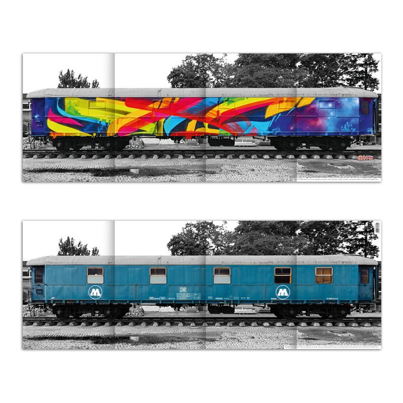 MOLOTOW™ Train Hall of Fame MadC Mega Poster
