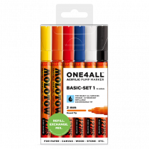 ONE4ALL™ 127HS 2mm 6x - Basic-Set 1 - Clearbox