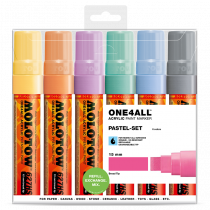 ONE4ALL™ 627HS 15mm 6x - Pastel-Set - Clearbox
