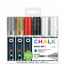 CHALK křídový fix 4-8mm Basic Set 1