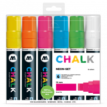 CHALK křídový fix Neon-Set (15 mm)