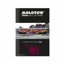 "MOLOTOW™ TRAIN Poster #23 ""KAISY"""