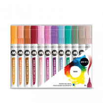 AQUA COLOR BRUSH 12x BASIC SET 2 - Clear Box