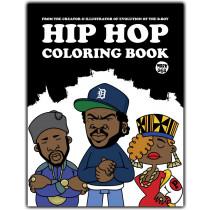 Hip-Hop Coloring book omalovánky