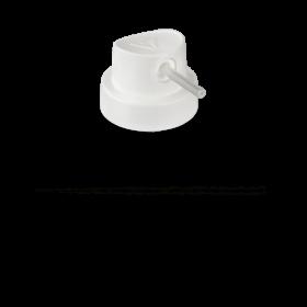 "Tryska Pipe Cap ""Skinny"" (white)"