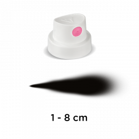 "Tryska ""SuperFat"" (white/pink)"