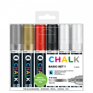 CHALK křídový fix Basic Set 1 (4-8 mm)