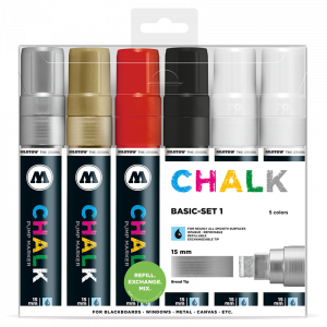 CHALK křídový fix Basic-Set 1 (15 mm)