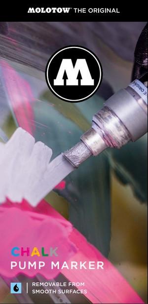 Chalk Pump Marker