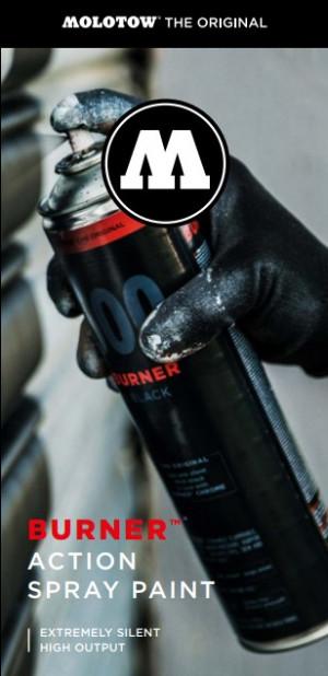 Burner™ Action Spray Paint