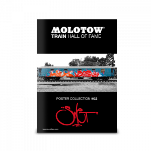 "MOLOTOW™ Train Poster #02 ""SWET"""