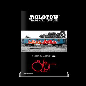 "MOLOTOW™ Train Poster #02 ""SWET"""