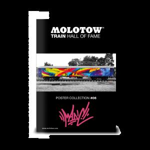 "MOLOTOW™ Train Poster #06 ""MADC"""