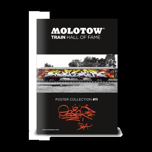 "MOLOTOW™ Train  Poster #11 ""GESER"""