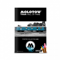 "MOLOTOW™ Train Poster #01 ""Coming Home"""